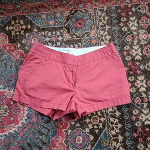 JCREW BROKEN IN CHINO SHORTS 3""